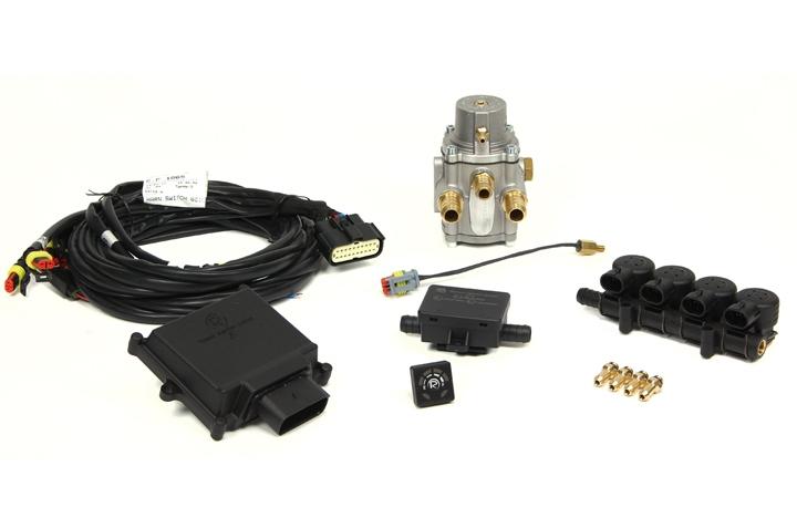 """Micro Kit 4 Cil. """"E"""" Iniettori Uniti + Riduttore GPL"""