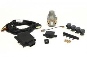 """Micro Kit 4 Cil.  """"E"""" Iniettori Divisi + Riduttore GPL"""