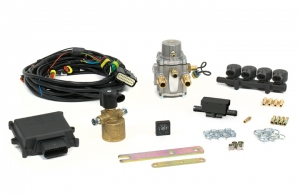 "4 cyl. LPG Mini Kit Max ""E"" Integrated Injectors"